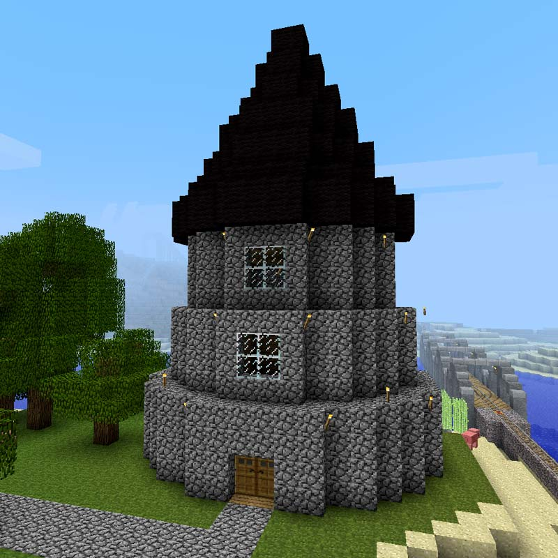 Build a minecraft wizard tower for Things to include when building a house