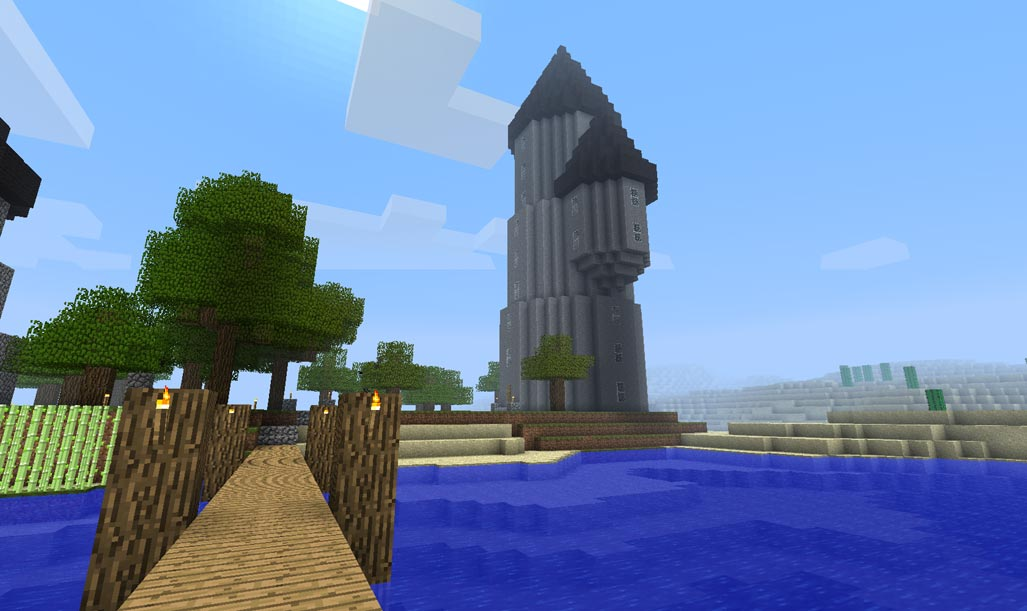 Build A Minecraft Wizard Tower