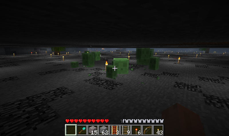 Minecraft how to farm slime balls from slimes ive seen slimes ccuart Choice Image