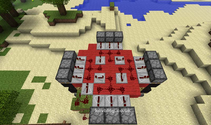 minecraft piston lighthouse : piston diagram minecraft - findchart.co