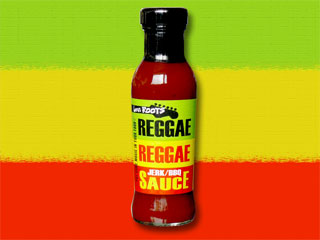 how reggae reggae sauce This is me with the very first batch of reggae reggae sauce at a sainsbury's store in 2007.