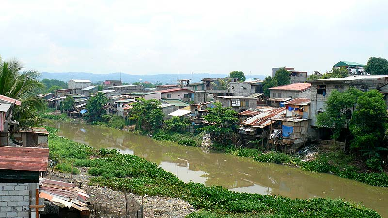 Cainta Philippines  city photo : Squatters in Cainta, Philippines