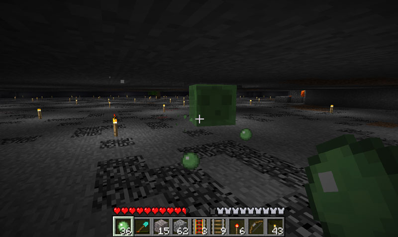 Minecraft how to farm slime balls from slimes each slime ccuart Image collections