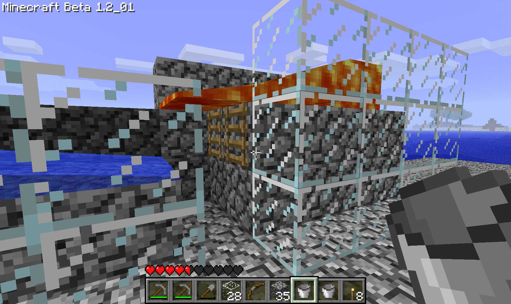 minecraft how to make a mob grinder using a spawner